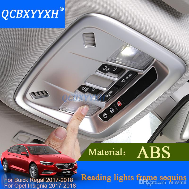 QCBXYYXH Car Styling Interior ABS Reading Light Frame Sequins Rear ...