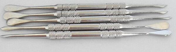 Edelstahl Wachs Werkzeug elektronische Zigarette Metall Werkzeug Dabber Werkzeug Titan Tupfen Nagel für Wachs trocken Kraut Dampf vor g5 Mikro atmos Zerstäuber