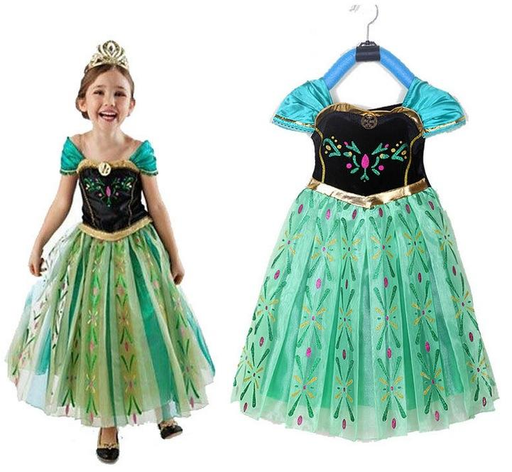 Dresses Costume Children Deluxe Elsa Kids Anna Frozen 2019 Girls RnI7qXI