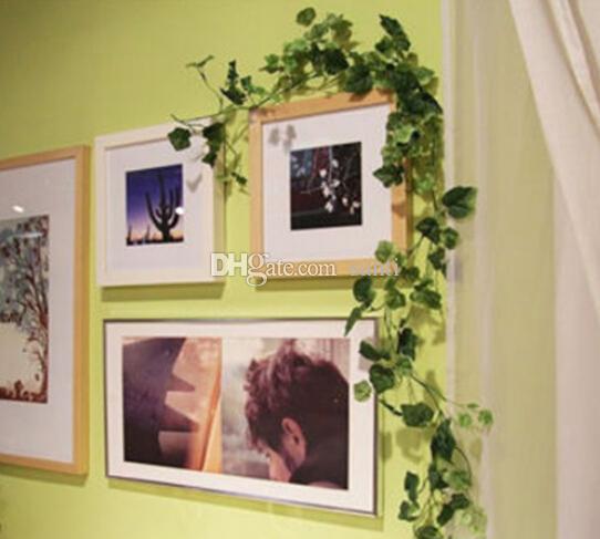 2.4 Metr Sztuczny Bluszcz Liść Garland Garland Rośliny Winorowe Fake Liści Kwiaty Home Decor