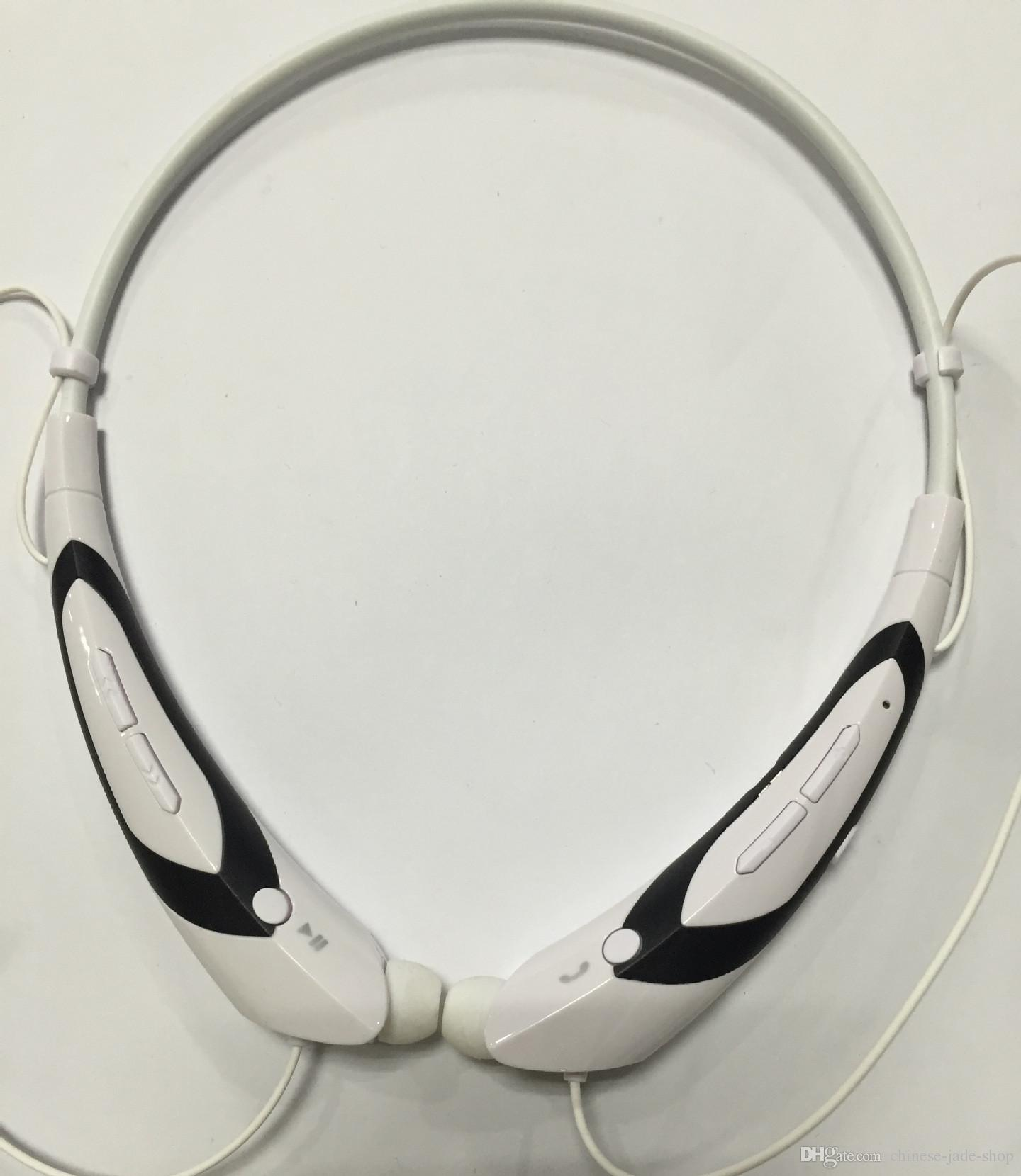 HBS760 HB-S760 Draadloze Bluetooth V4.0 Headset In-Ear Hoofdtelefoon Neckband Stereo met Micro-Oortelefoon voor Sport / Party Simple Opp