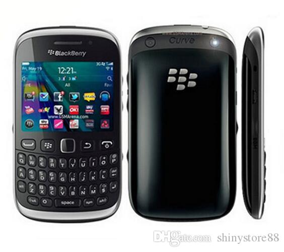 Unlocked Original Blackberry 9320 Curve 9320 320 x 240 pixels, 2.44 inches with Wifi Gps Bluetooth mobile phone Refurbished