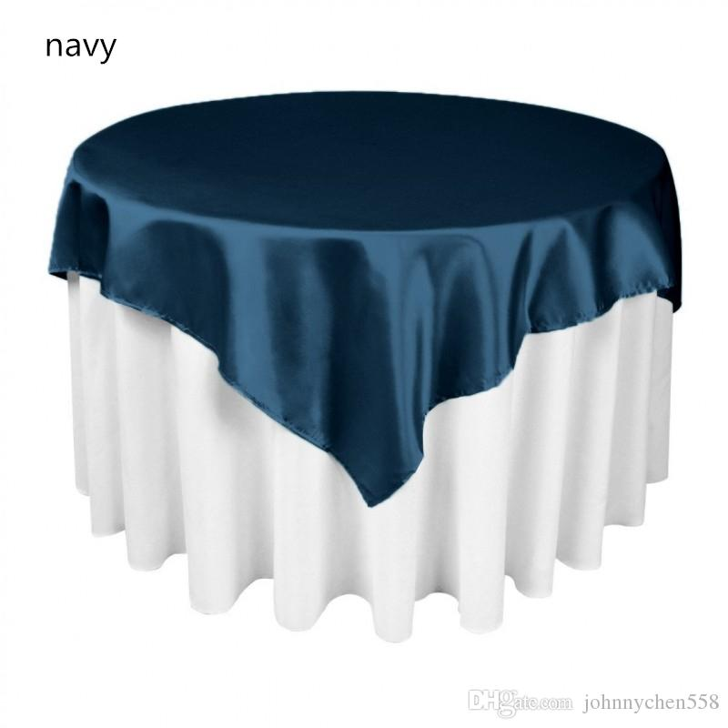 hot sale mulit colors square table overlay cloth 55x55 for banquet table cloth and cheap table linen table liners from