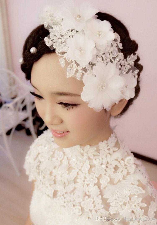 2015 bridal hair accessories handmade lace hair rhinestone