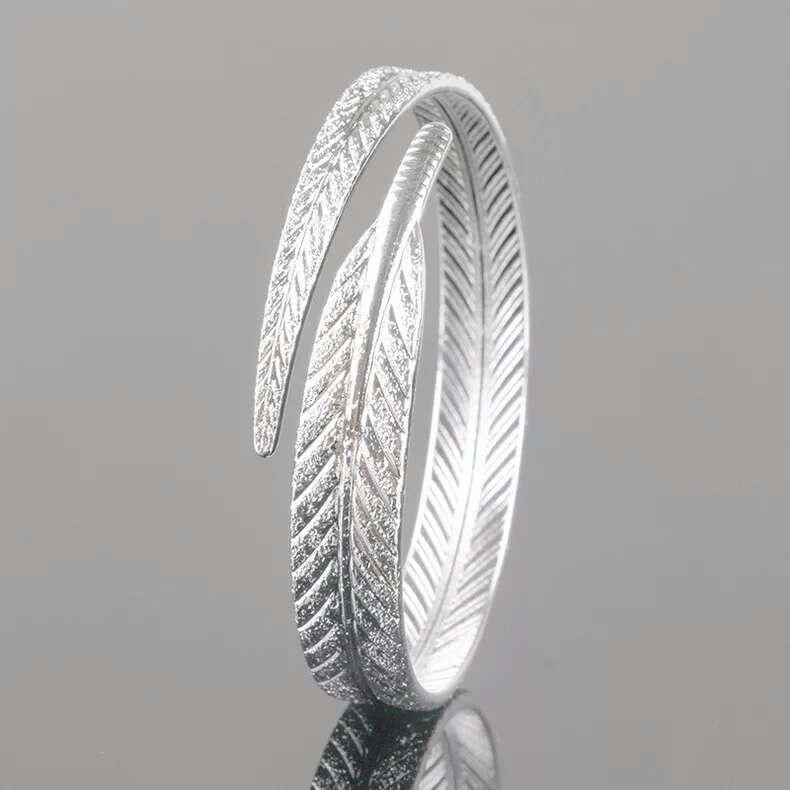 925 стерлингового серебра браслет предметы Шарм браслеты ювелирные изделия carven лист в форме браслет свадьба старинные прелести новое прибытие