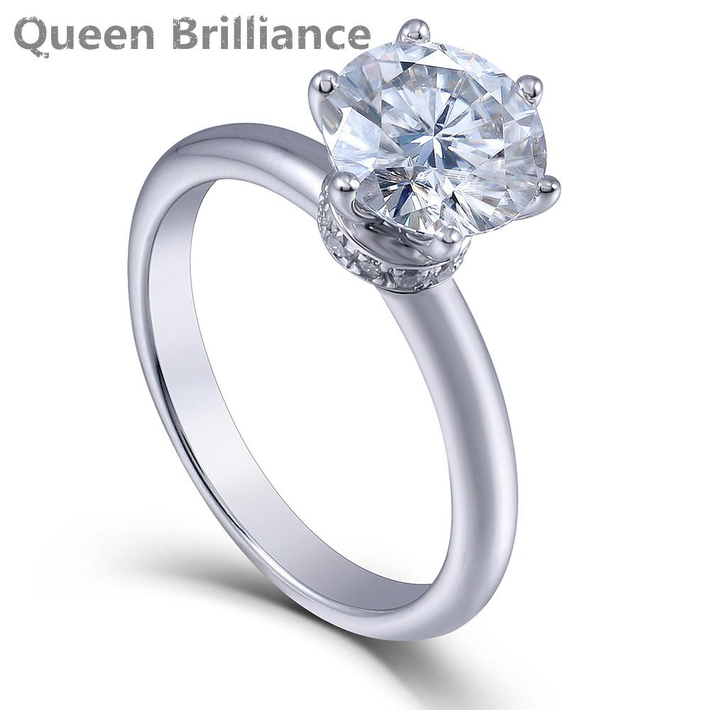 ed f cushion d halo platinum a white in one moissanite bridal gold forever ctw and diamond set