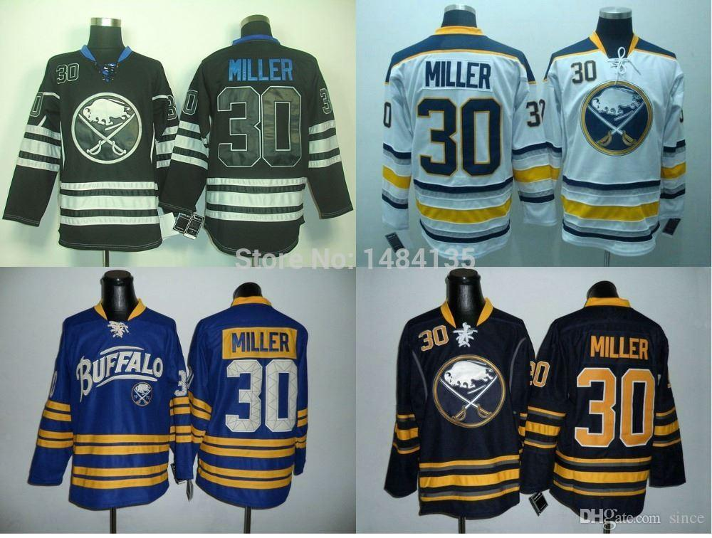ce151f4e89b ... Adidas 30 NHL Home Authentic 2017 2016 New, Mens Buffalo Sabres Jersey  30 Ryan Miller Blue Third Jerseys White Ccm ...