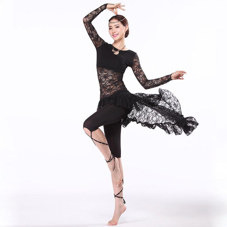 34480c51f 2019 New Training Belly Dance Clothes Women Ballroom Dance Dress ...