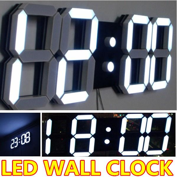 Wholesale Large Modern Digital Led Wall Clock Watches Home