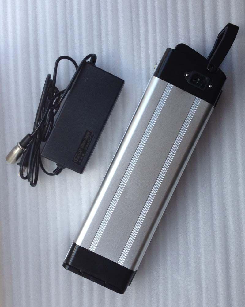 горячие продажи BMS 48 в 15ah литий-ионный ebike батареи алюминиевый корпус велосипед электрический велосипед батареи 48 в 500 Вт 750 Вт с зарядное устройство комплект