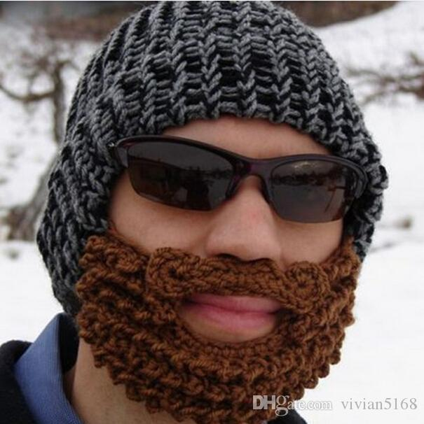To Make A Bearded Beanie You Need Two Ings And Beard Since I Wanted This Hat Right Away Thick Bulky Yarn