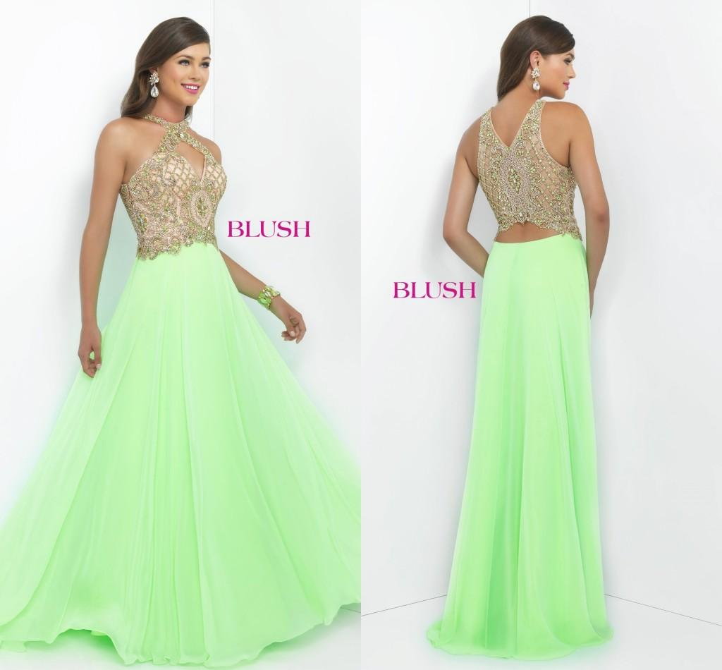 Charming lime green bridesmaid dresses hollow chiffon beaded off charming lime green bridesmaid dresses hollow chiffon beaded off the shoulder formal prom gowns floor length a line evening dresses custom burgundy ombrellifo Image collections