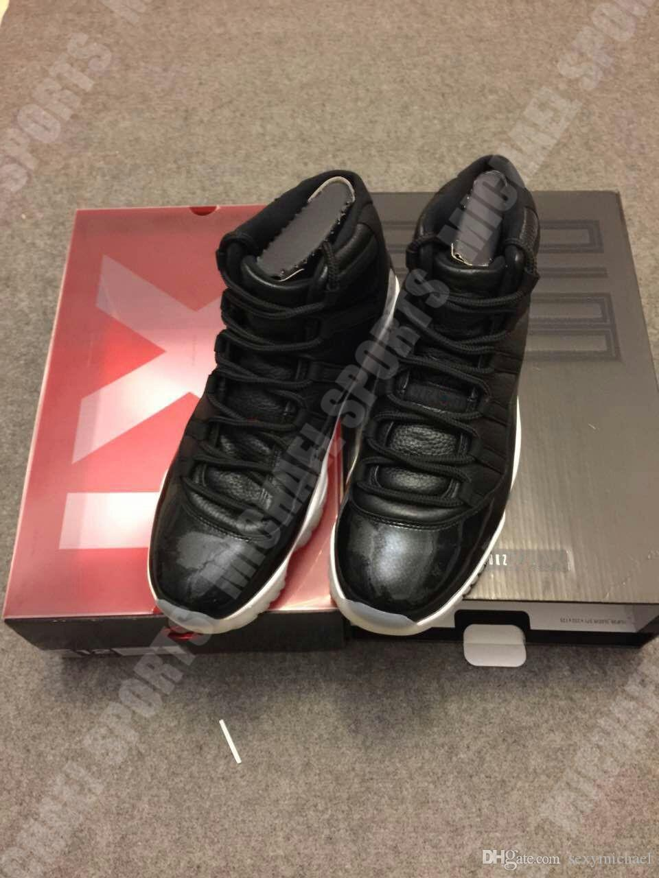 11 72 10 11S баскетбол обувь классические кроссовки для мужчин женщин идеальный углеродного волокна OG заводская версия Майкл Спорт