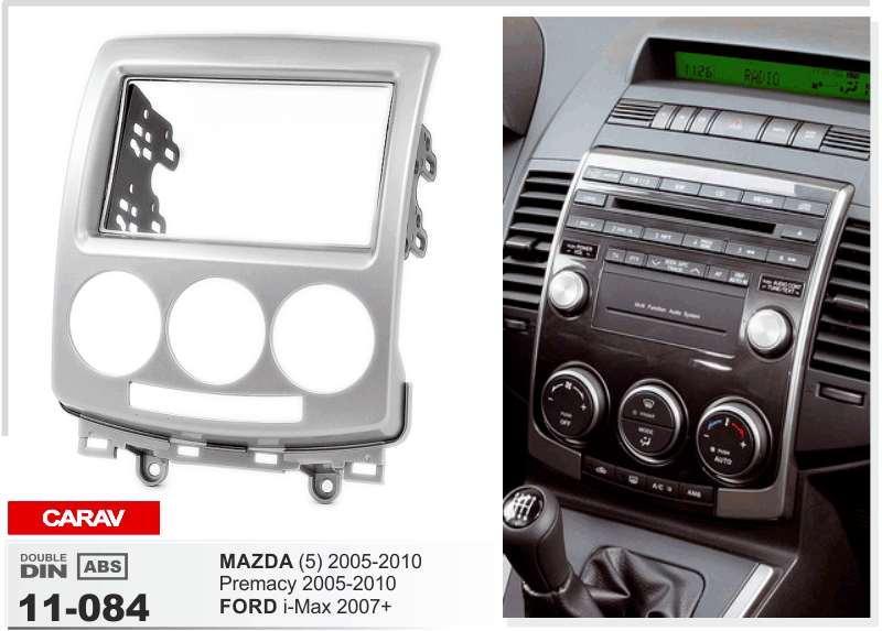 Carav 11 084 car stereo radio fascia plate panel frame kit for carav 11 084 car stereo radio fascia plate panel frame kit for ford i max mazda premacy stereo facia surround install trim fit dash kit sciox Images