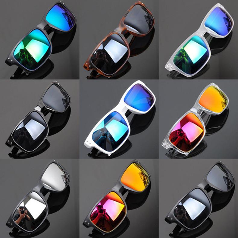 Marque Sports Lunettes de soleil Hommes Femmes Ciclismo Lunettes Hommes Lunettes De Soleil Marque Designer Revêtement Lunettes De Soleil De Mode Oculos SunGlasses Hommes lunettes