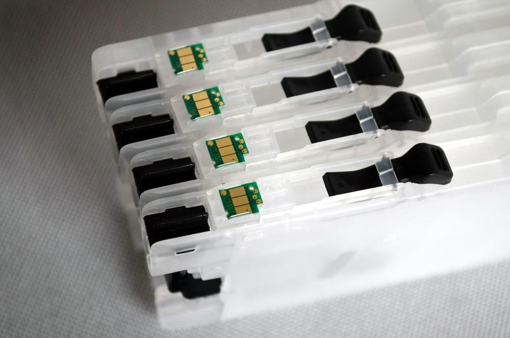 خرطوشة الحبر LC123 المعاد تعبئتها مع شريحة إعادة الضبط التلقائي للطابعة Brother MFC-J6520DW و MFC-J6720DW و MFC-J6920DW و DCP-J152W و DCP-J132W و DCP-J552DW