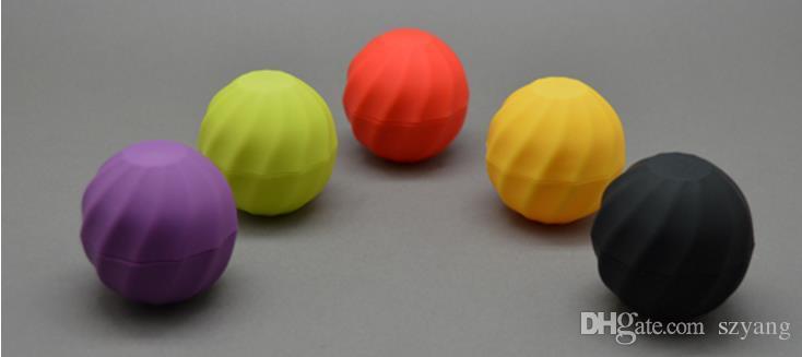 فارغة التجميل الكرة الحاويات 7G بلسم الشفاه ملمع جرة كريم العين حالة عينة أحمر برتقالي بنفسجي أخضر أسود