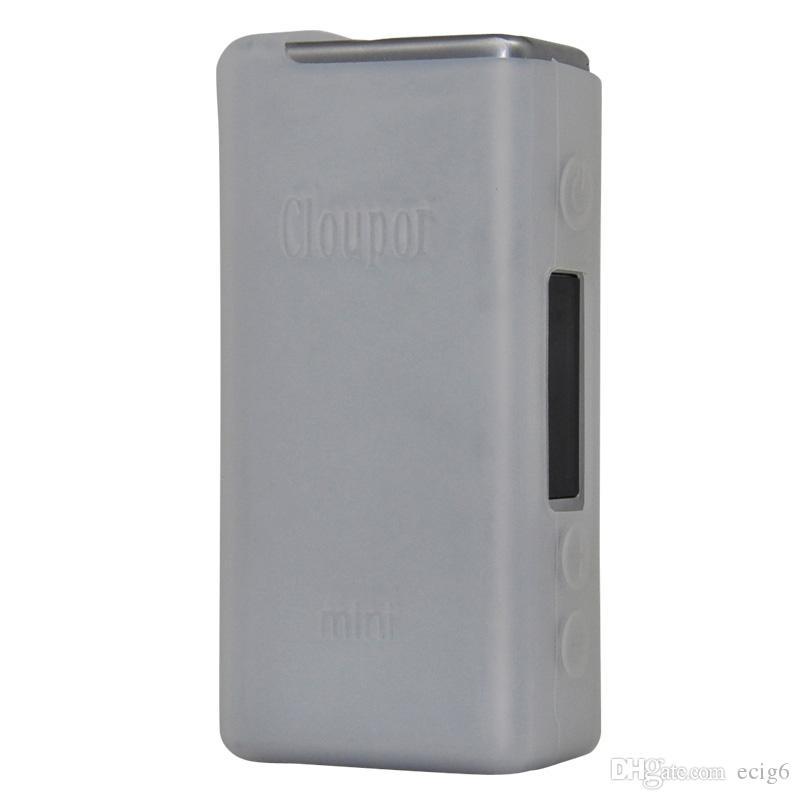 cloupor mini MOD E cig. Cigarette électronique Etui en silicone Skin Cover Sac Pochette Pochette Accessoires Boîte