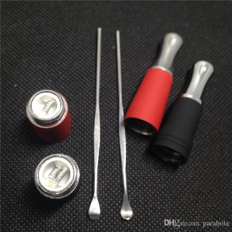 Mais novo Wax Dabbe Ago G5 Frigideira Gax vaporizador Dabber Ferramenta de Cera De Aço Inoxidável Para Cera Ego Fumar Vaporizador Atomizador