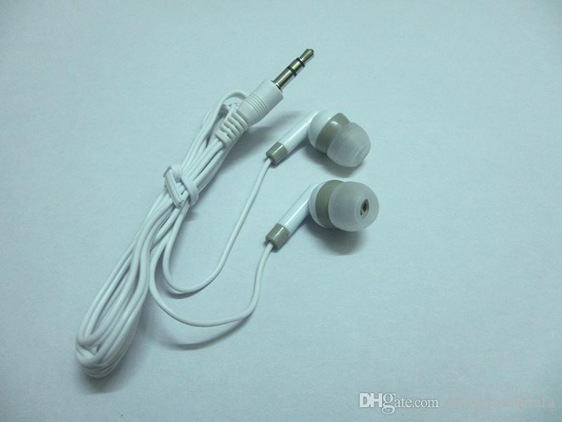 Sıcak Satış 3.5mm Stüdyo Için Kulak Kulaklık Kulaklık Audifonos Kulaklıklar Kulakiçi Auriculares DJ Mp3 Mp4 Çalar Telefon Müzik