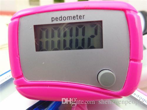 Hot sale Pocket LCD Pedometer Mini Single Function Pedometer Step Counter LCD Run Step Pedometer Digital Walking Counter