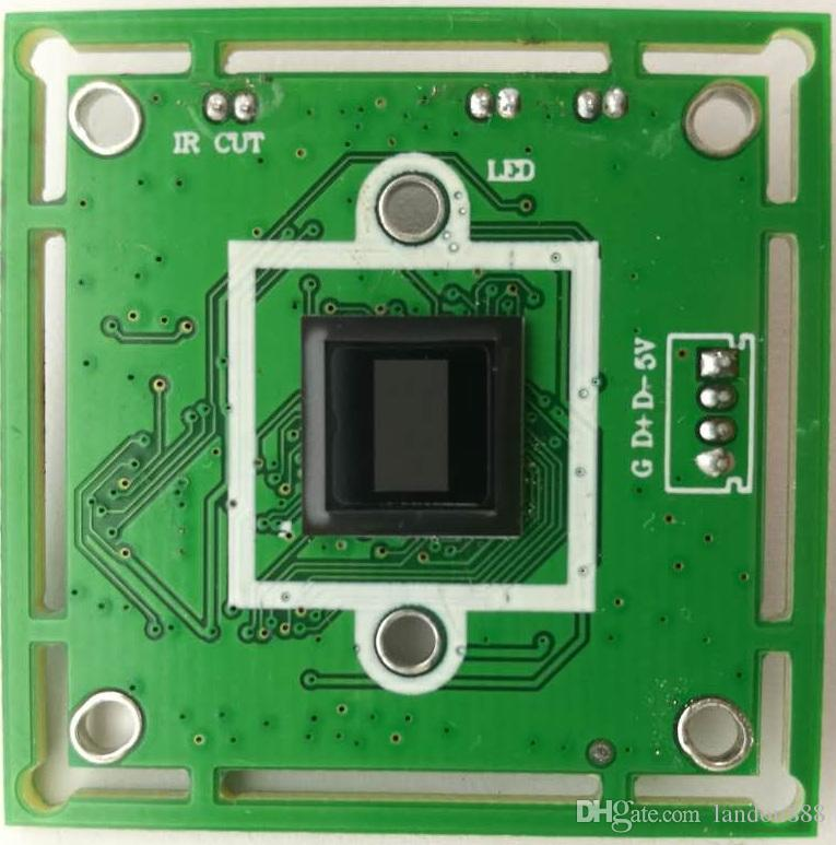 2MP 1080P FHD usb cameras face recognition module 3.6MM lens wide degree viewing angle USB2.BA
