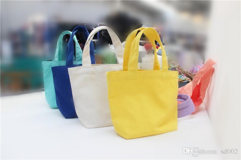 حقيبة يد قماش حقائب الغداء المحمولة سيدة حقيبة مستحضرات التجميل لتخزين المواد كاندي اللون 3 5xx C Rkk