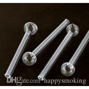 Great Pyrex Glass Oil Burner Pipe Clear Glass Oil Burner Glass Tube Glass Pipe Oil Nail Glass Oil Pipe Thick Clear Glass