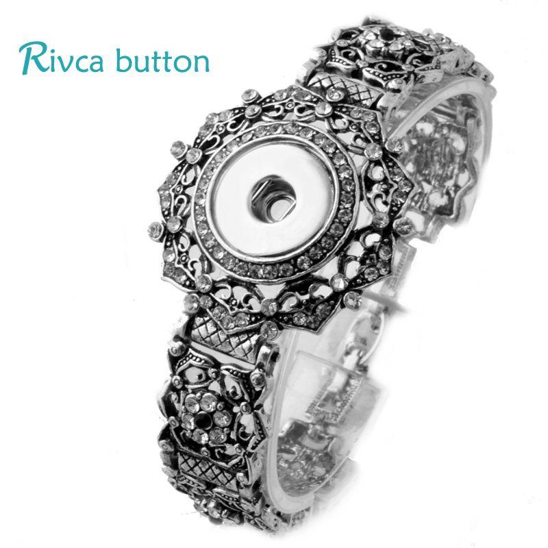 2018 Wholesale New Women Silver White Bangles Bracelets Stainless Steel Rose Fashion Brand Custmor Jewelry Bracelets Fit Women