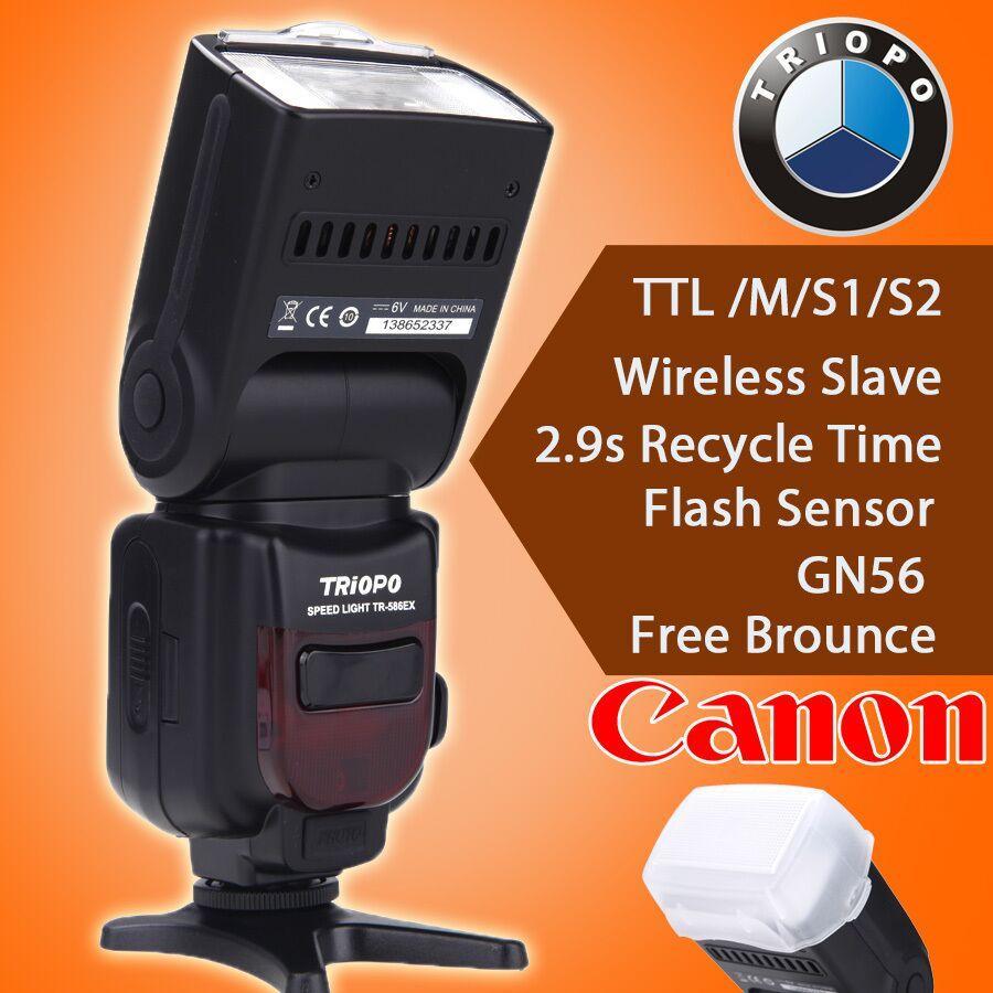 Triopo Tr 586ex C Wireless Ttl Flash Speedlite For Canon Eos 5d Mark Yongnuo Yn 565ex Ii Lcd 5d3 7d 6d 70d 650d 5diii 60d As Yn565ex Cameras Flashes Online With