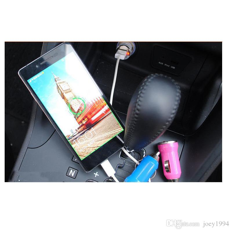 5V 1A Multi Color Mini USB Car Charger Adapter Universal for iPod / Digital Cameras / PDA / Cell Phone