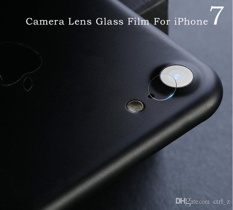 Para iphone XR XS MAX X 7 8 Protector de lente de cristal templado Cámara trasera Película protectora trasera cubierta de teléfono