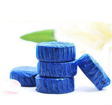 Desodorierende Schatz der blauen Blasentoilette des Toilettenschüsslerreinigers saubere Toilettengeisttoilettenball