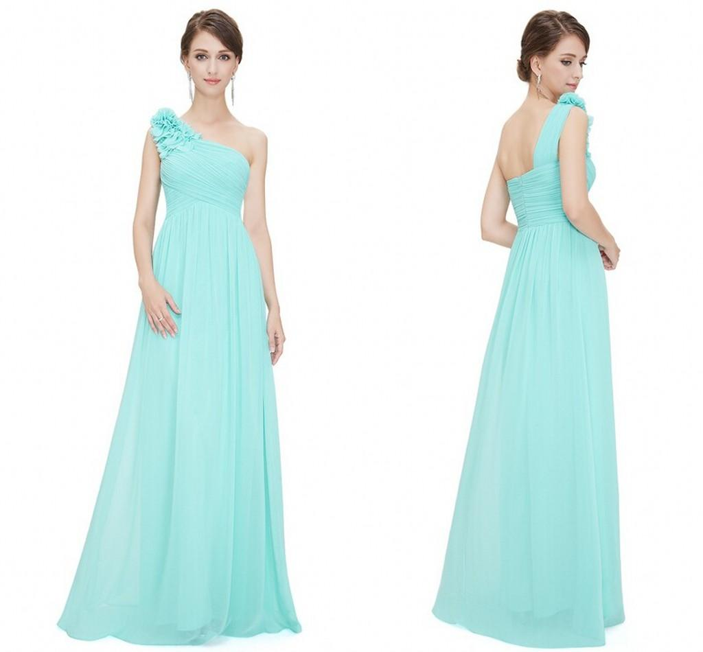 2015 cheap chiffon long bridesmaid dresses one shoulder sleeveless 2015 cheap chiffon long bridesmaid dresses one shoulder sleeveless flower pleat floor length party dresses for wedding high street bridesmaid dresses junior ombrellifo Images