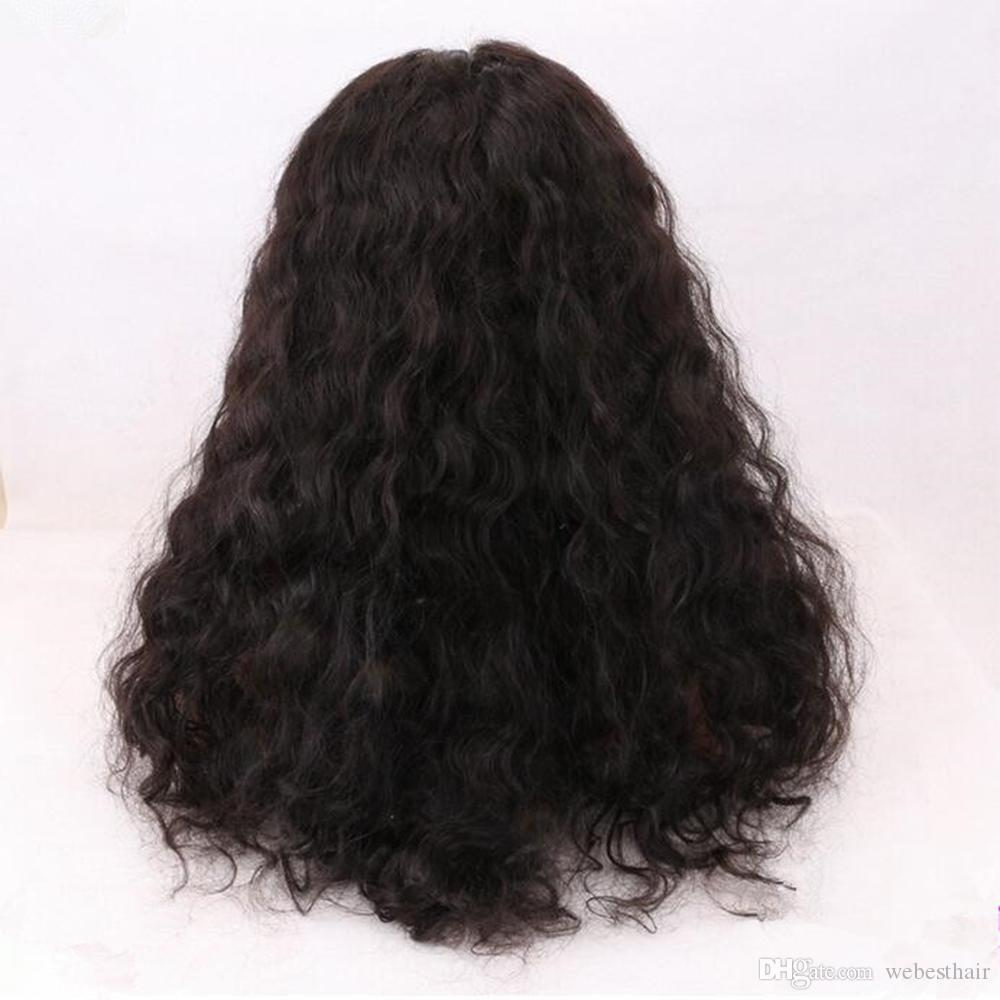 Brazilian Virgin Hair Human Hair Wigs Pre Plucked Lace Front Wigs Wet and Wavy Human Hair Brazilian Water Wave Lace Front Wigs