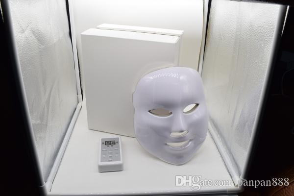 new LED Facial Mask face skin care led light therapy Led Photon Facial PDT mask skin rejuvenation Beauty Therapy Lights