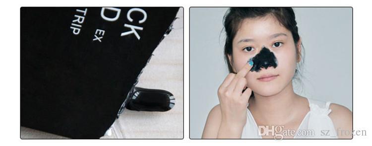 DHL Ücretsiz Nakliye PILATEN Yüz Mineraller Conk Burun Siyah Nokta Remover Maske Gözenek Temizleyici Burun Siyah Kafa EX Gözenek Şerit A-0200