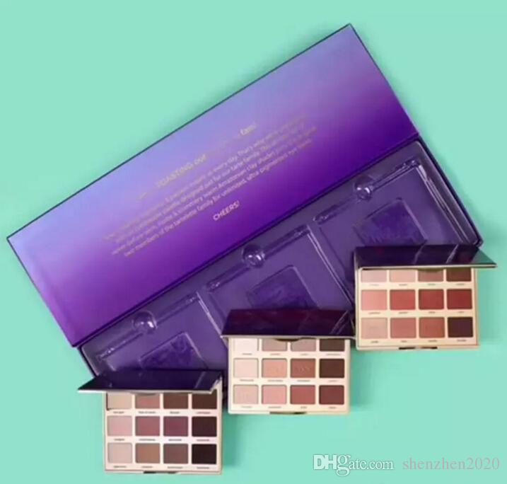New makeup set in bloom ,toasted and amazonion clay high-performance naturals matte palette eyeshadow for Christmas 2017