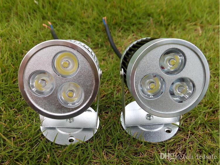 Wall Light 3W LED Spotlight Bulb AC 110V 220V 3 Watt for Indoor Bathroom Spot Lights Lamps Warm white Natural white Cool white 3X1W CE ROSH