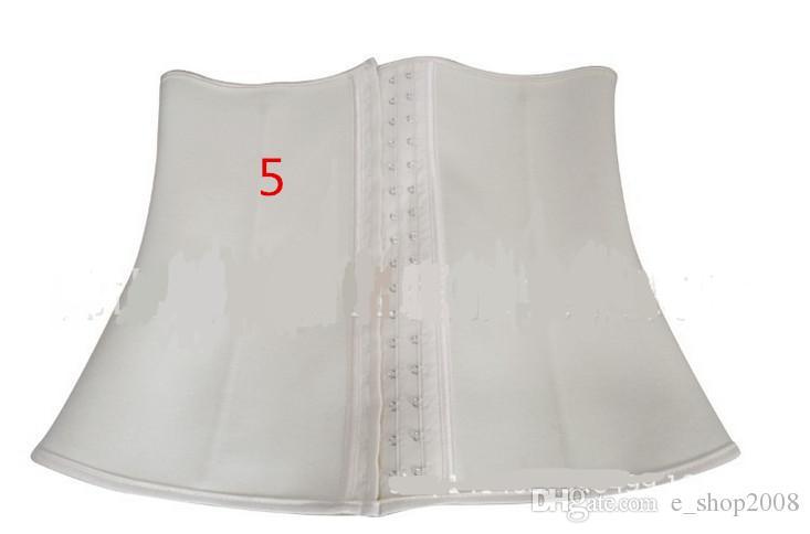 XS-3XL 4 Цвета Женщины Латексная Резина Обучение Талии Cincher Пояс Обучение Талии Ким Underbust Корсет Shaper Body Shaperwear