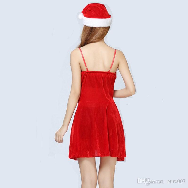 High Quality Sexy Christmas Dress Sexy Lingerie Christmas Costumes ...