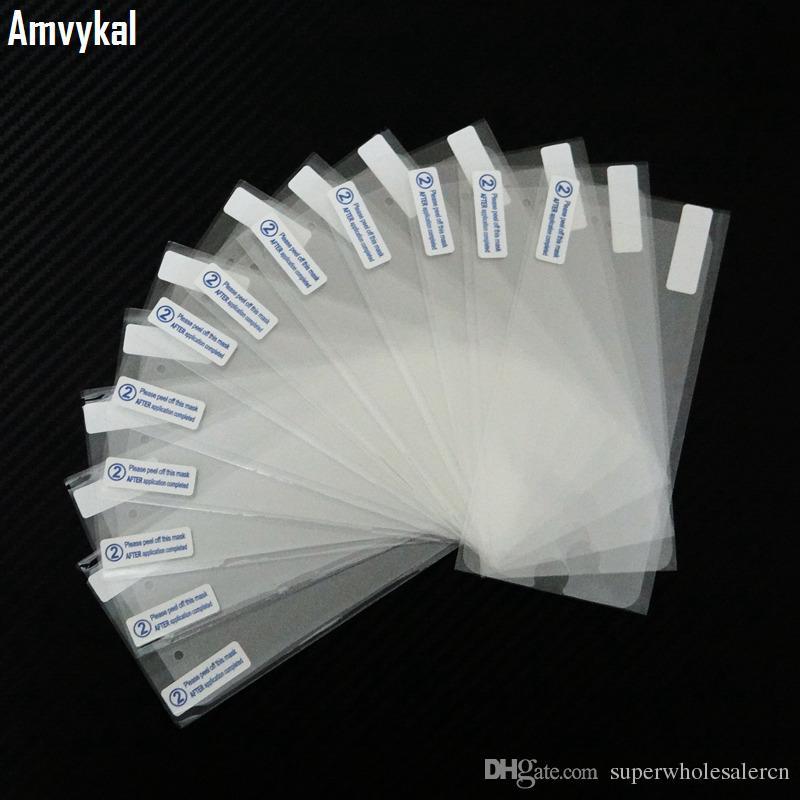 Amvykal Samsung Galaxy S20 Ultra S10E S10 Artı S9 S8 S7 S6 Kenar Ekran Koruyucu Temizle Parlak Pet Ekran Guard Koruyucu Film