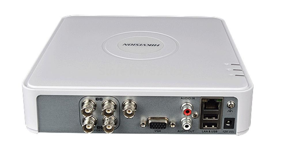 New Cctv Dvr Hikvision Ds 7104hc E1 With Audio Ports Surveillance Dvr Hikvision Dvr Recorder Web Camera Online Purchase Web Camera Online Shopping