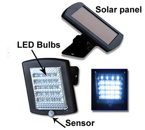 2018 solar infrared sensor security light36led solar powered see larger image mozeypictures Gallery
