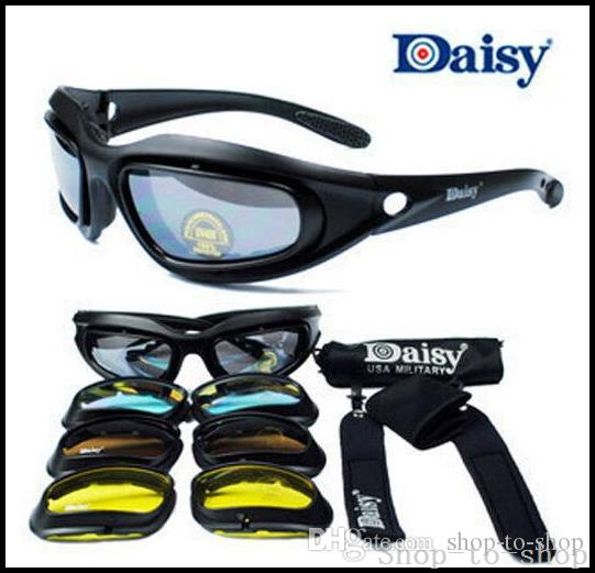 361a0231b03c9 Daisy C5 Army Goggles Desert Storm 4 Lens, Outdoor UV Protection ...