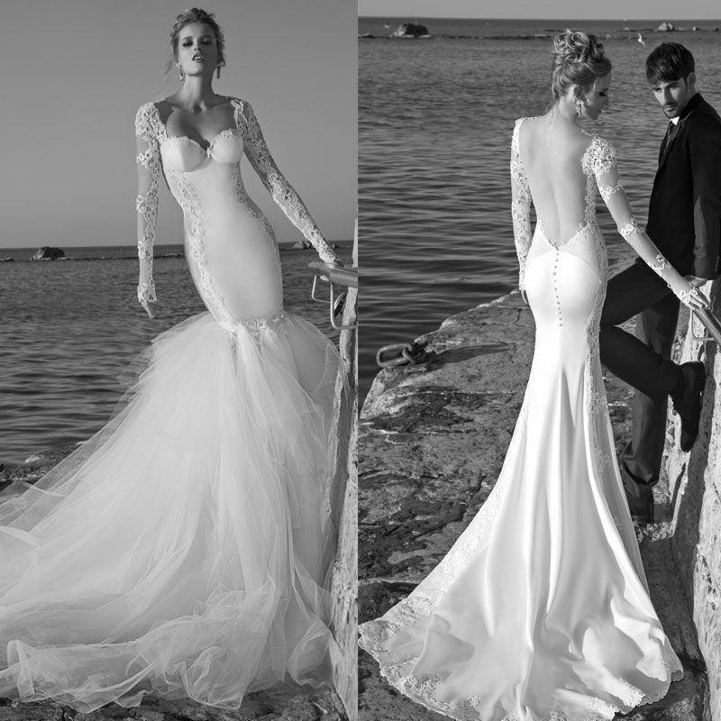 Traditional Wedding Gowns With Detachable Trains: Galia Lahav Tullia Wedding Dresses Mermaid Sweetheart