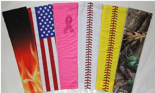 2016 Wholesale new cancer breast Digital Camo Arm Sleeve guard for adult and children ALL COLORS AND SIZES
