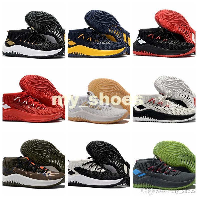 16d212f69a016e 2019 2017 Top Quality D Lillard Dame 4 Men Basketball Shoes