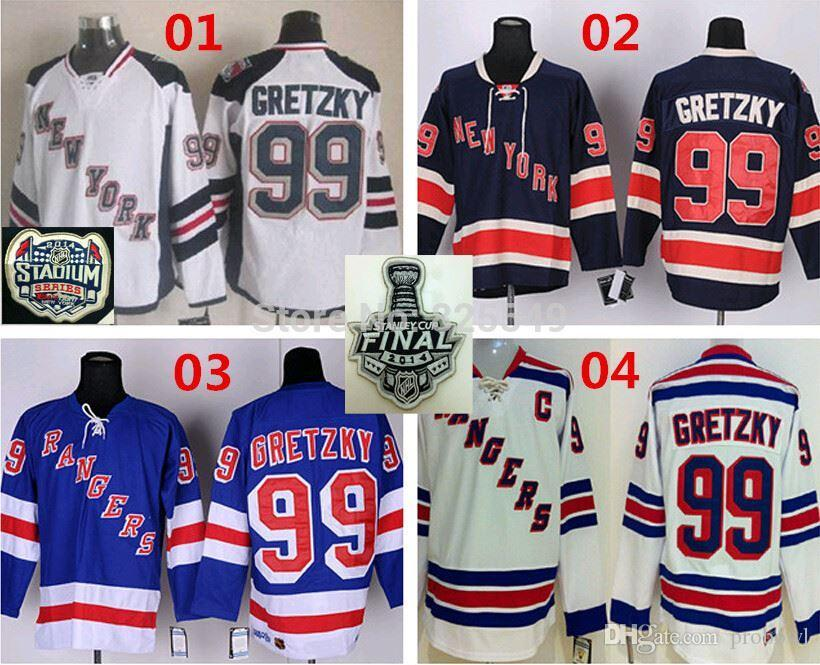 ... spain online cheap cheap new york rangers 99 wayne gretzky nhl hockey  jerseyhome blue road 332be 68b2c821b