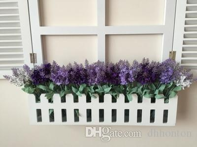 36cm lavender flower real touch artificial flower silk flower very beatiful decorative flower for wedding shop and party